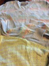 Talbots Mens Sz L Cotton Sweater Lot (2)