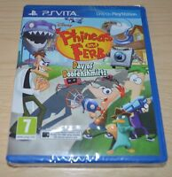 PS VITA GAME PHINEAS AND HERB DAY OF DOOFENSCHIRTZ  * PAL * BRAND NEW AND SEALED