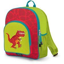 New listing New Crocodile Creek T-Rex Eco Kids School Backpack 14� Red Green
