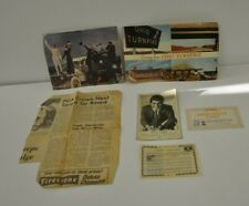 Vintage Paper Ephemera Lot Newspaper Postcards Paul Anka Betty Crocker Coupon