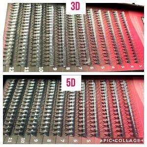Pre Made Russian Volume Lashes 3D 4D 5D Short Fan Mink Semi Permanent Extensions