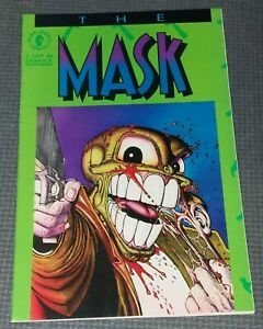 THE MASK #1 (1991) Dark Horse Comics Mini Series 1st Solo Series Jim Carey Movie