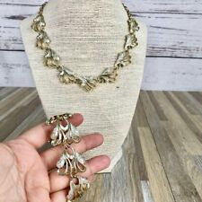 Vintage Sarah Coventry Gold & Silver Necklace Set