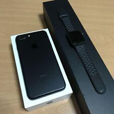 Apple iPhone 7 Plus 128 GB Black USA Unlocked With Free Apple Watch Full Set