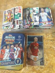 FOOTBALL / SOCCER SPORTS CARDS / STICKERS LARGE LOT BUNDLE
