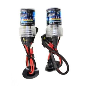 Pair Lamps Xenon Hid H1 6000K 35W AC Lights Bulbs Replacement 12V