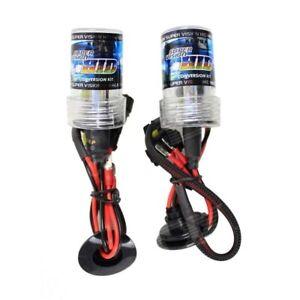 COPPIA LAMPADE XENON HID H1 6000K 35W AC LUCI BULBI LAMPADINE XENO RICAMBIO 12V