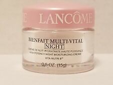 LANCOME BIENFAIT MULTI-VITAL NIGHT CREAM - .5 oz.