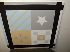2' x 2' Exterior Building Decor Sign or Barn Quilt Picture Frame Design
