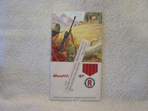 REDFIELD SCOPES 1967 catalog brochure shooting