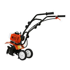 2-Takt Benzin Gartenhacke Motorhacke 52cc Ackerfräse Bodenfräse Kultivator