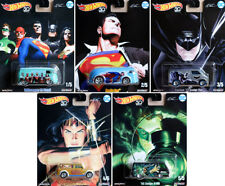 Alex Ross DC Heroes Series Pop Culture Set 5 Modelle 1:64 Hot Wheels DLB45