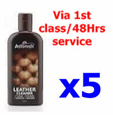 5x Astonish Leather Cleaner Restorer Polish Protector Cream Sofa Car Seat