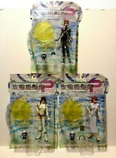 Ghost in the Shell  2 Lot of 3 Action Figures MOC Man Machine Interface Alpha
