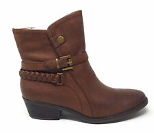 BareTraps Womens Morra Ankle Boot Brush Brown Size 7.5 M US