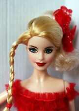 Barbie Holiday Model Muse Blonde Redressed Beautiful 2017
