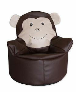 Sitzsack braun / Bodenkissen / Sitzkissen / Kindersitzsack / Sessel für Kinder