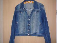 Street one  Jacke*Jeans Jacke blau used Waschung* 40  Spandex NEUWERTIG