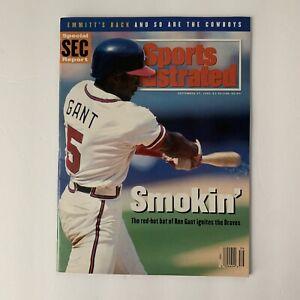 Sports Illustrated 1993 9/27/93 Ron Gant Atlanta Braves MLB Newsstand No Label
