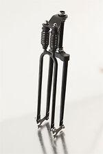 Black Heavy Duty Rat Rod Monark 2 Dual Springer Bicycle Fork BUILT IN USA