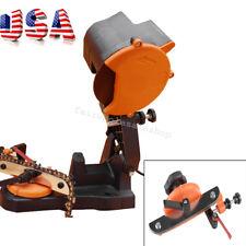 Electric Chain Saw Sharpener Bench Grinder Chainsaw Grinder Bench Mount 4800RPM