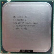 Intel Pentium D Processor 925 /4M Cache/ 3.00 GHz/ 800 MHz FSB SL9KA