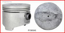 Enginetech P1583(4).50 Engine Piston Set