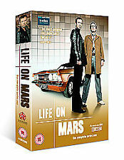 Life On Mars - Series 1 - Complete (DVD, 2006, 4-Disc Set, Box Set)