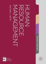 Human Resource Management (Palgrave Business Briefing), Nieto, Mr Michael L., Ne