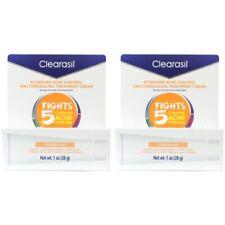 2 Pack Clearasil Daily Clear Tinted Acne Treatment Cream 1.0 Oz Each