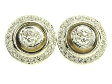 Versace Earrings Medusa Silver Woman Authentic Used T1085
