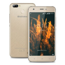 """Unlocked Blackview A7 Pro Mobile Phone Android7.0 4G LTE 2GB+16GB 5.0"""" Quad Core"""
