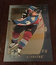Wayne Gretzky1999-00 UD Joe Sakic Element Of The Game Insert #EG14 Card