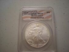 2009 MS70 Silver Eagle ANACS Certified