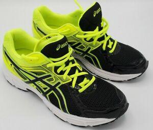 Asics Gel Contend 2 Men's Yellow/Black Running Shoes T424Q Size 10.5 NICE