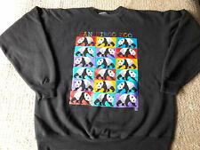 Vintage San Diego Zoo Panda Embroidered Artist Gotschalk Mens Sweater no size