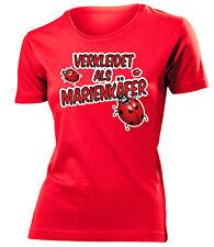 Karnevalskostüm -VERKLEIDET ALS MARIENKÄFER T-Shirt Damen S-XXL