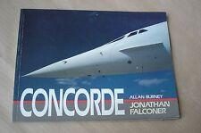 CONCORDE JONATHAN FALCONER ALLAN BURNEY AVIAZIONE AEREI FLOTTA 1992