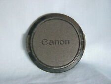CANON FD ORIGINAL 52mm JAPAN MADE LENS CAP