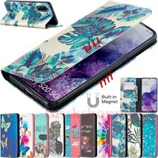 For Samsung S20 Note 20 Ultra S10e S10+ Magnetic Flip Leather Wallet Case Cover