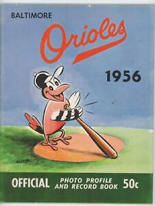 1956 Baltimore Orioles Yearbook