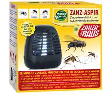 Zanzariera elettrica con ventola per zanzare insetti tigre stermina fulmina