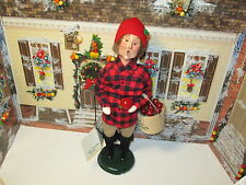 Byers Choice Retired and Limited 1998 Paper Store Apple Harvest Man