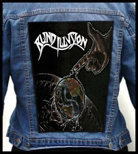 BLIND ILLUSION - The Sane Asylum  --- Huge Jacket Back Patch Backpatch