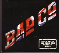 "BAD COMPANY ""Live in the UK - Wembley"" 3 CD Digipack"