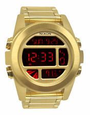 Nixon Stainless Steel Band Men's Digital Wristwatches