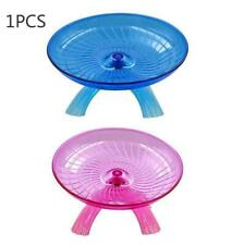 Pet Hamster Wheel Flying Saucer Exercise Mouse Running Toys Disc I1U6