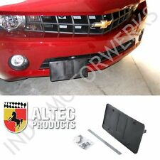 CAMARO 2010-15 RETRACTABLE FRONT MANUAL LICENSE PLATE MOUNT SHOW N GO ALTEC NEW