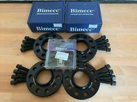 BIMECC ALLOY WHEEL SPACERS 2 x12mm 2 x15mm 5X100 57.1MM AUDI A1 S1 8X (R)