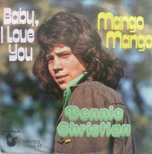 "7"" 60s CV RONETTES 1973 ! DENNIE CHRISTIAN : Baby I Love You / MINT-?"